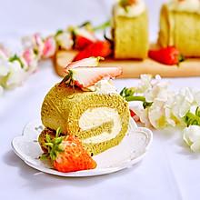 草莓抹茶卷#优思明3.14,狗年第一波撒狗粮攻略#