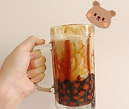 自制珍珠奶茶(糯米粉版本)的做法