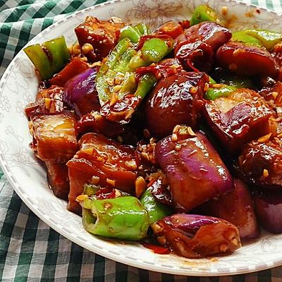 鱼香茄子——非油炸版