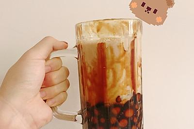 自制珍珠奶茶(糯米粉版本)