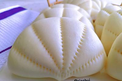 水光肌—奶香馒头—荷叶夹馒头(保姆级教程)