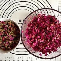 玫瑰鲜花饼的做法图解1