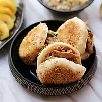 老北京烧饼夹烤肉#利仁电饼铛,烙烤不翻锅#的做法图解10