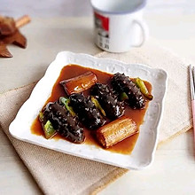 #憋在家里吃什么#葱烧海参