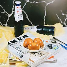 #花10分钟,做一道菜!#喝了酒的鸡蛋—啤酒蛋