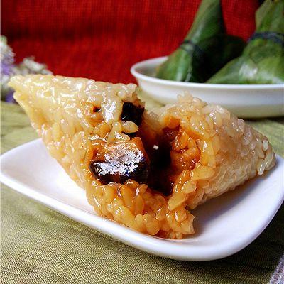端午粽子香:香菇肉粽