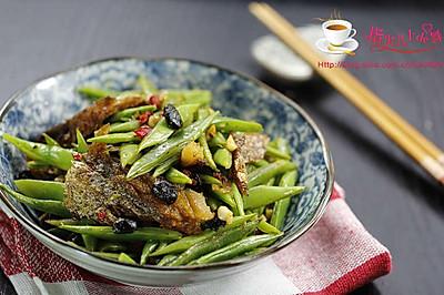 豆豉鲮鱼刀豆丝