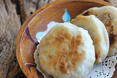 利仁电饼铛试用之门钉肉饼