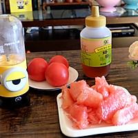 番茄柚子汁的做法图解2