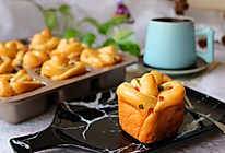 香肠沙拉玫瑰花面包#有颜值的实力派#的做法