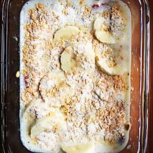 减肥餐-香烤牛奶燕麦香蕉