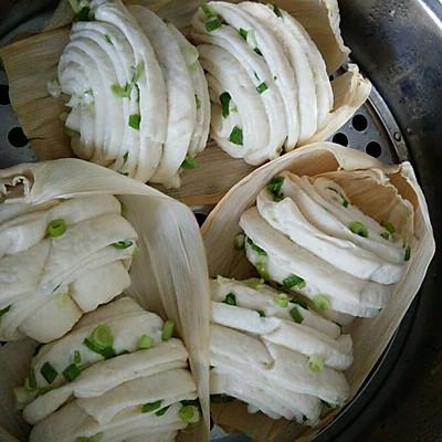 花卷两吃(葱香和椒盐)
