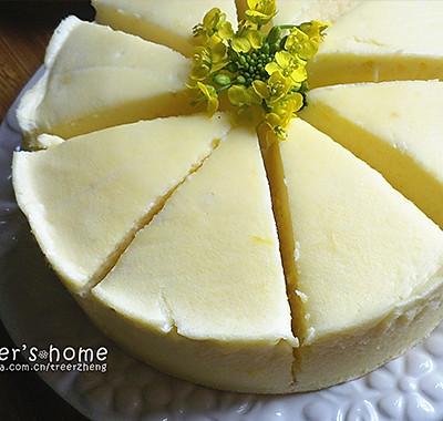 小清新酸奶柠檬蛋糕(3蛋6寸)