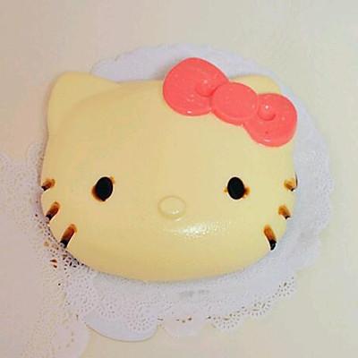 kitty酸奶慕斯蛋糕(无需烤箱)