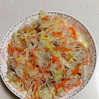 白菜凉拌粉丝——luke的做法图解5