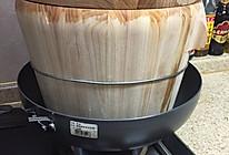 蒸大米木桶饭的做法