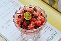 西瓜炒冰的做法