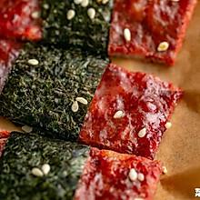 海苔芝麻猪肉脯 脆韧交织