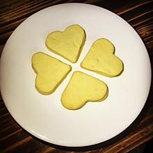 黄油爱心饼干