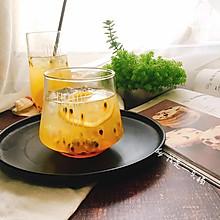 百香果柠檬蜂蜜饮 夏季美白排毒小能手