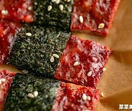 海苔芝麻猪肉脯 脆韧交织的做法