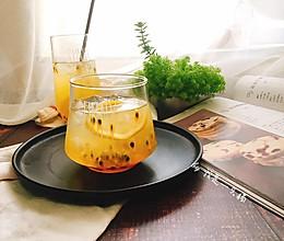 百香果柠檬蜂蜜饮 夏季美白排毒小能手的做法
