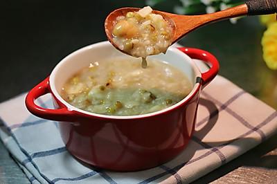 莲子绿豆百合粥