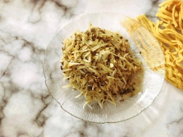 萝卜丝炒梅干菜豆腐干的做法