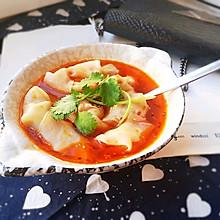 #快手又营养,我家的冬日必备菜品#川味~红油抄手