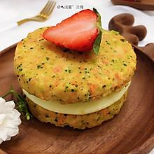 """#美食说出""""新年好""""#好吃不胖---低脂蔬菜鸡肉饼"""
