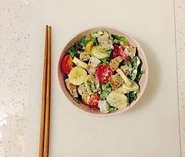 瘦身沙拉的做法