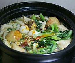 素菜砂锅的做法