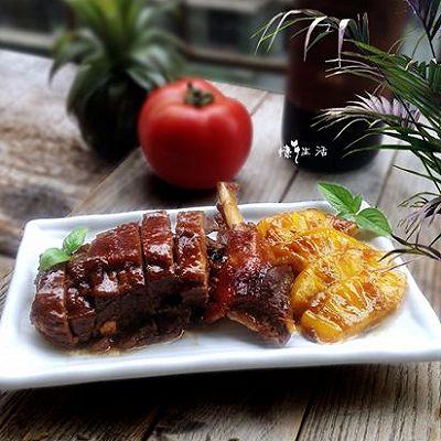 菠萝焖鸭-----利仁电火锅试用菜谱1