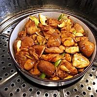 香菇滑鸡,让你远离油烟的美味蒸菜的做法图解9