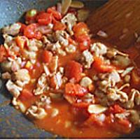 番茄鸡肉蝴蝶结意面的做法图解6