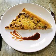 #憋在家里吃什么#自制牛肉披萨