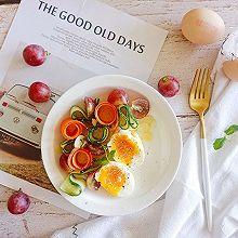 美味鸡蛋果蔬沙拉