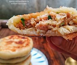 春笋拌肉煎饼的做法
