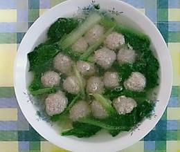 牛肉丸子汤的做法
