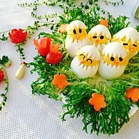 蛋黄萌小鸡沙拉#丘比轻食厨艺大赛#的做法图解9