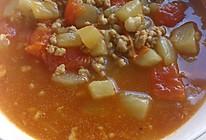 茄丁肉酱面(浇头)的做法