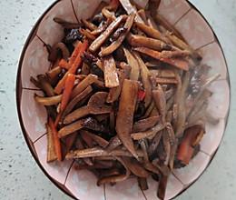 肉炒杏鲍菇的做法