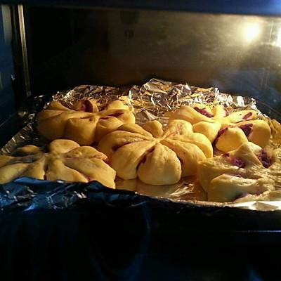 紫薯馅南瓜面包的做法 步骤10