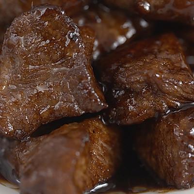 黑椒牛肉粒|美食台
