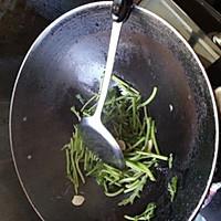 素炒茼蒿的做法图解2