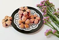 紫薯桃花酥#中粮我买,春季踏青#的做法