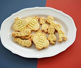 小朋友喜欢的卡通黄油饼干,简单可爱的做法