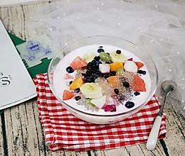 #美食新势力#西米红豆水果捞的做法