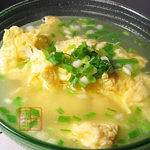 葱香蛋汤的做法