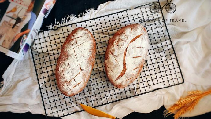 蜜豆核桃bread